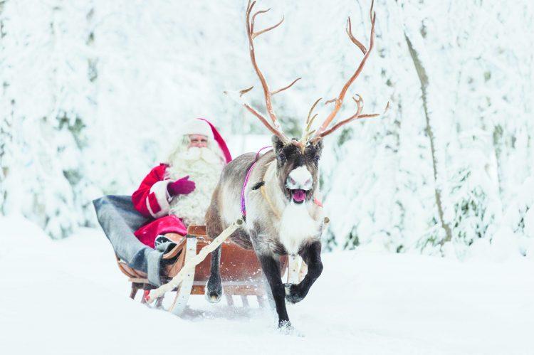 kerstwens,say it with santa campagne,visit finland,fins verkeersbureau,vakantie lapland blog