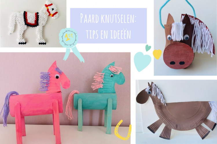 paard knutselen tips en ideeen,knutseltip paarden